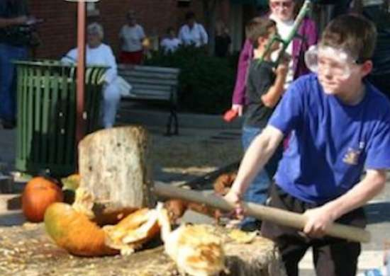 Statesvillepumpkinfest-pumpkin-smashing-event