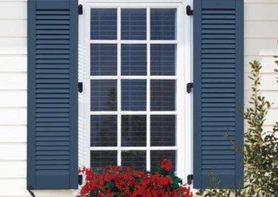 Louvered shutters types of shutters 9 designs everyone should know bob vila - Types shutters consider windows ...