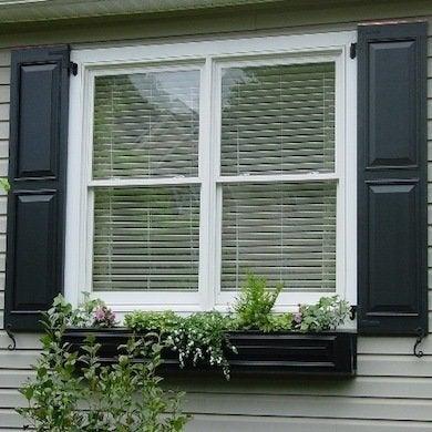 Types of shutters 9 designs everyone should know bob vila - Raised panel interior window shutters ...