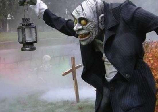 Halloweenyard scaryghoul evilsunday rev