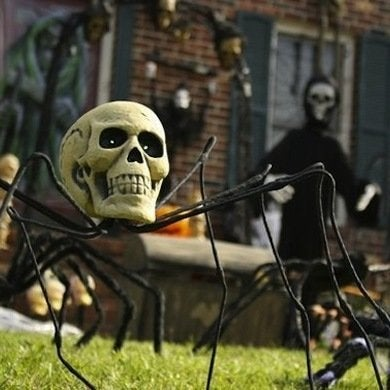 Scullheadedspider halloween decorations evilsunday