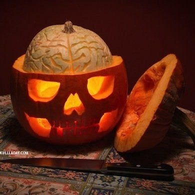 Pumpkin brain
