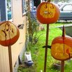 Pumpkins on Spikes
