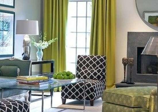 Living room paint ideas bob vila - Grey yellow and green living room ...