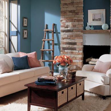 vandeusenblue livingroom flickriver benjaminmoore - Great Living Room Paint Colors