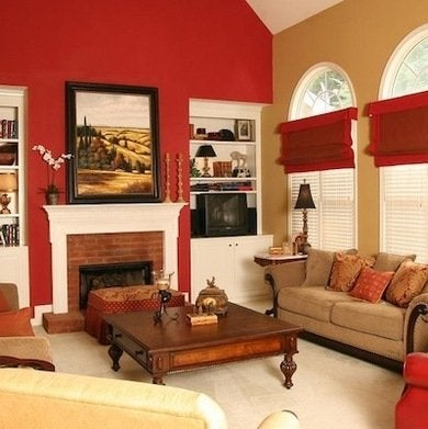 To Avoid An Overload Of This Vibrant Hue However Robinson Often Focuses It On One Wall Accent Walls Are Terrific When You Want Use A Bold Color Like