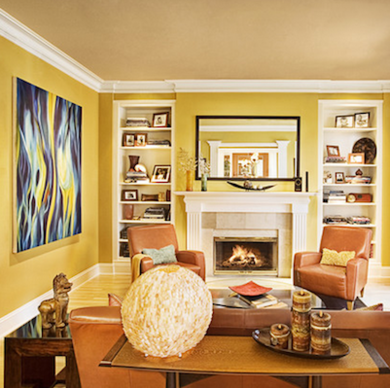 Living room paint ideas bob vila Cheerful colors to paint a room