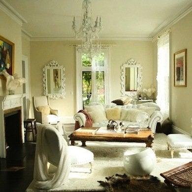 White living room living room paint ideas bob vila for The best living room colors