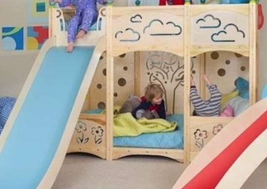 Bunk Bed Slide