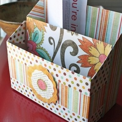 Cereal Box Stationery File & DIY Filing Solutions Paper Storage - Control the Chaos! - Bob Vila Aboutintivar.Com