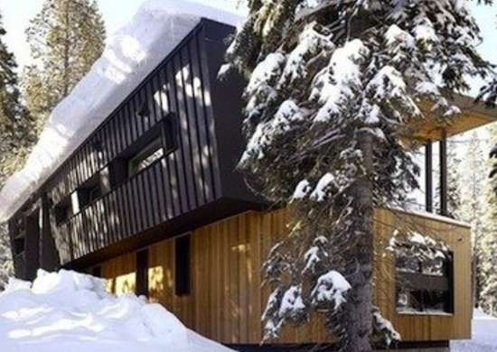 Mountain dream cabin trendir
