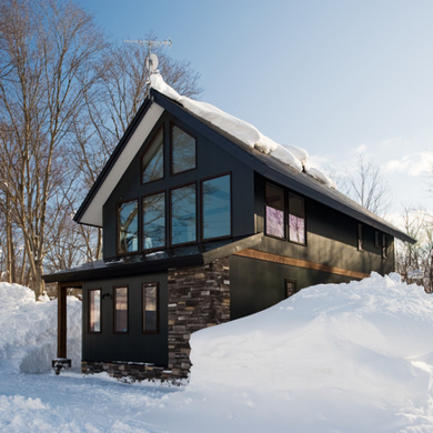 Ski chalet 9 warm and cozy 21st century designs bob vila - Chalet modern design ...