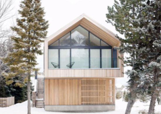 Winter cabin ski chalet 9 warm and cozy 21st century for Winter cabin plans