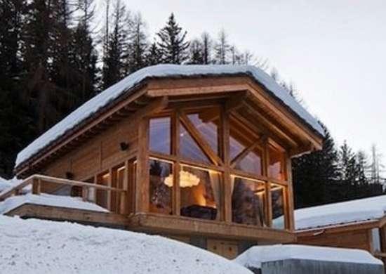 Small ski chalet ski chalet 9 warm and cozy 21st for Ski chalet home plans