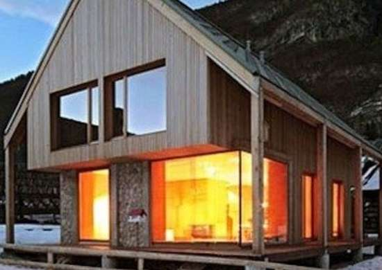 Sustainable reinterpretation of an alpine classic designtopnews