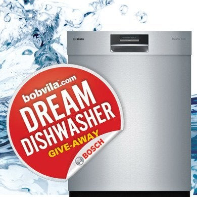 Bob vila 39 s dream dishwasher give away for Enter now to win
