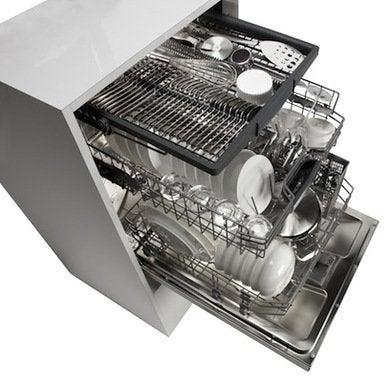 Bosch dishwasher open third rack