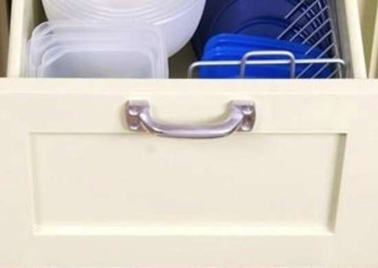 Tupperware Storage