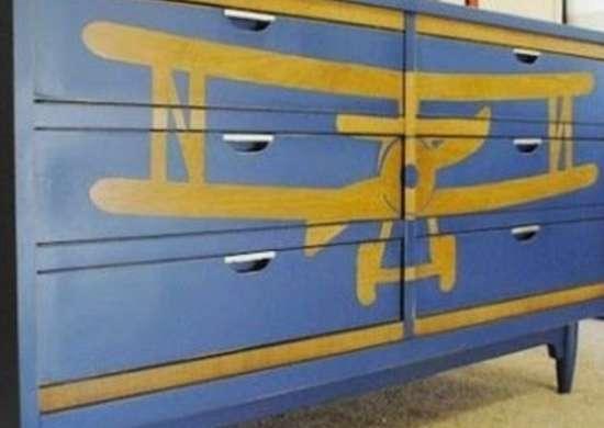 Stencil airplane2