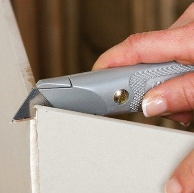How to cut drywall diynetwork