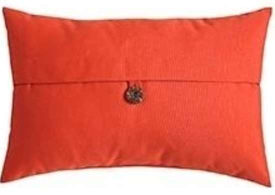 Oblong Terracotta Pillow