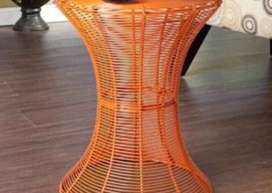Cordoba Indoor/Outdoor Wire Accent Table