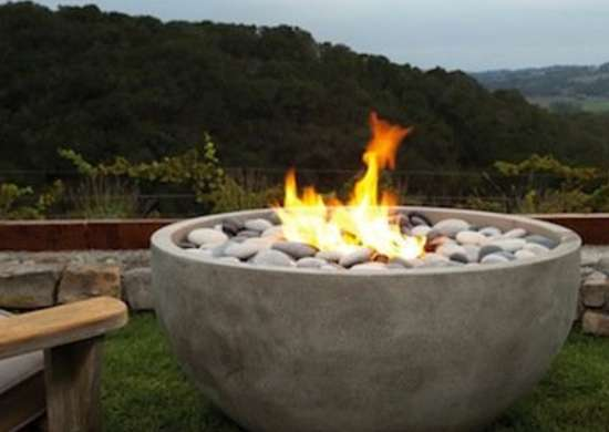 Concrete Fire Bowl Fire Bowls 11 Ways To Heat Up Your