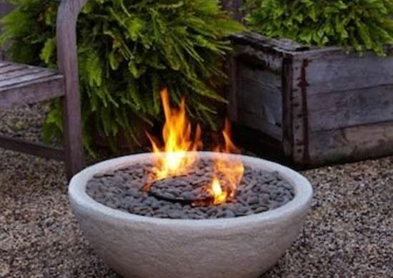 Natural Fire Bowl