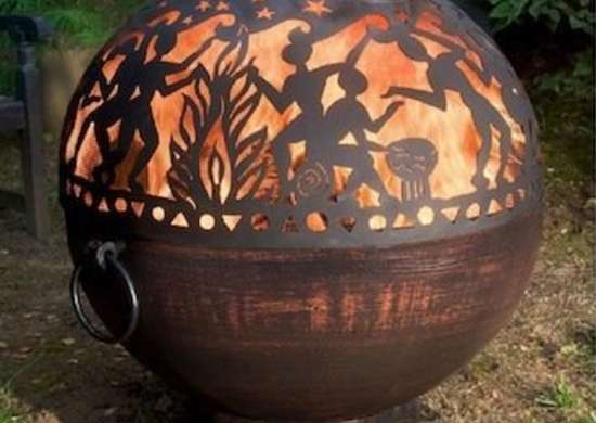 Sphere Fire Bowl