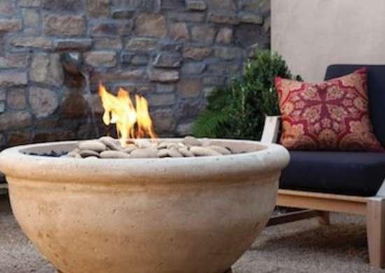 Roman Fire Bowl