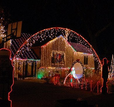 Crazy christmas lights 550x368