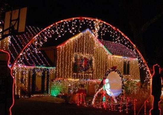 Crazy christmas lights 550x368