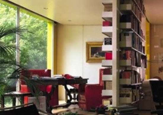 Room Dividing Bookshelf