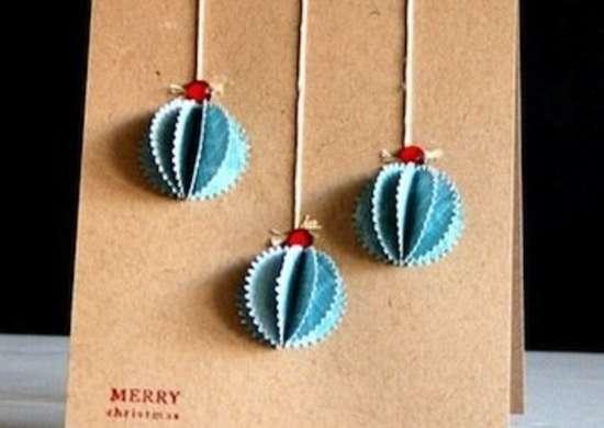 Dimensional ornaments card 2