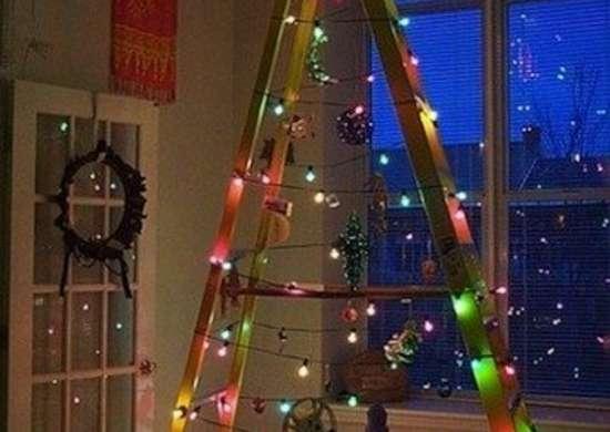 Light-Covered Ladder