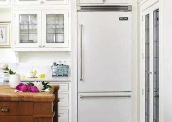White appliances kitchen