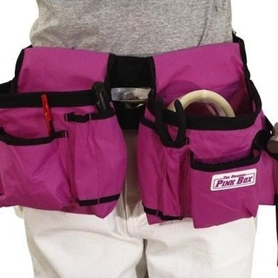 Csgtlhd1000006092  00 nylon pink toolbelt original pink box