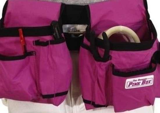 Csgtlhd1000006092  00 nylon pink toolbelt original pink box