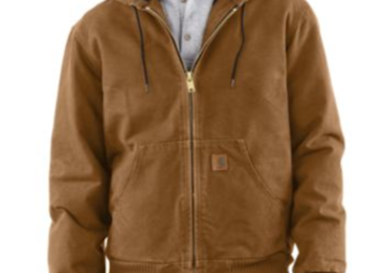 Carhartt jacquilted coat