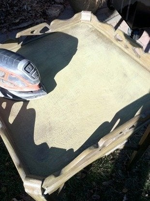 Kyeager-table-paint-makeover-sander-how-to