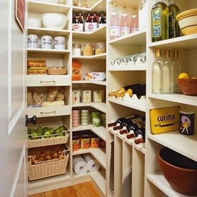 Pare down pantry