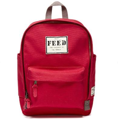 Feed backpack