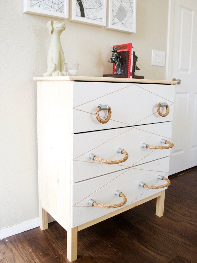 15 Simply Genius Drawer Pulls To Dress Up A Dresser