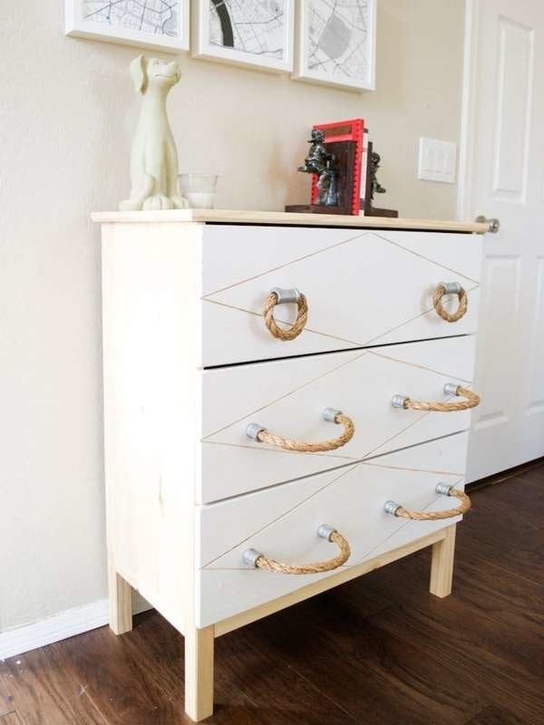 DIY Drawer Pulls - 15 Cool Cabinet Hardware Ideas - Bob Vila