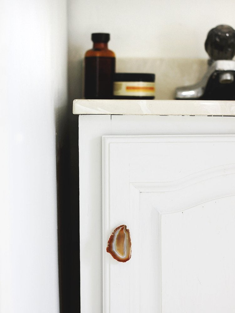 Diy Geode Drawer Pulls