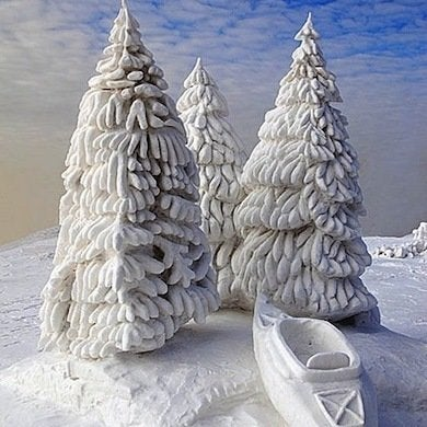 Snow Sculpture 12 Incredible Frosty Feats Bob Vila