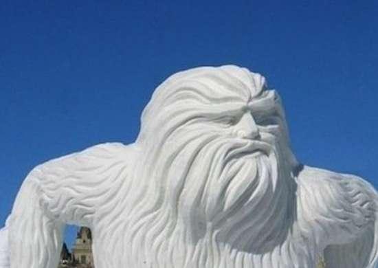 Sasquatch Sculpture