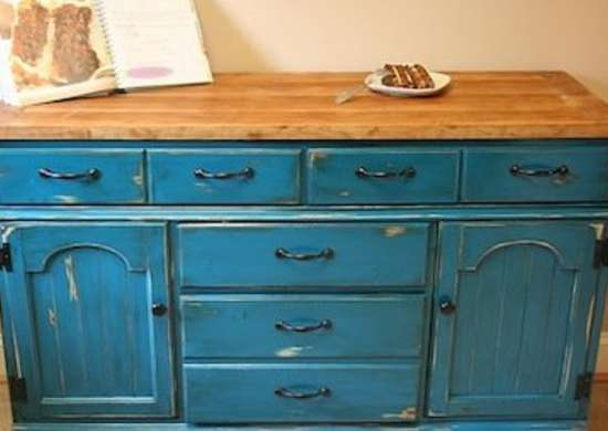 rustic diy dresser kitchen island idea | 12 DIY Kitchen Island Ideas - A Dozen Unique (and Doable ...