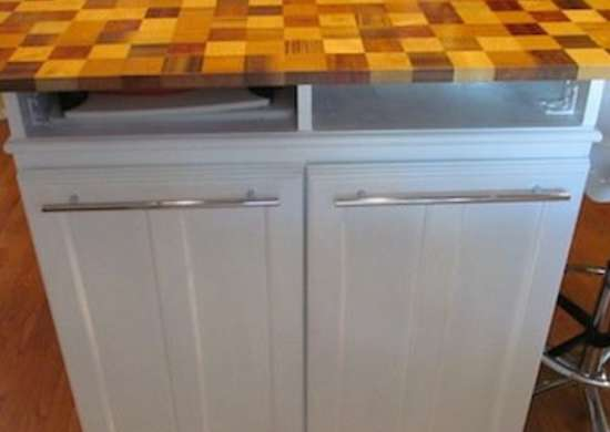 Repurposed Cabinets DIY Kitchen Island 12 Unique Designs Bob Vila