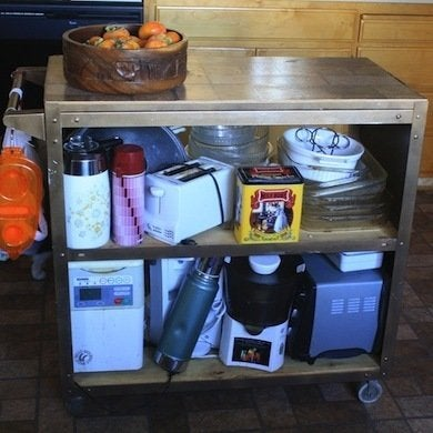 Kitchen Island Cart Diy diy kitchen island - 12 unique designs - bob vila